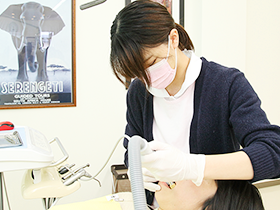 歯のクリーニング/カウンセリング